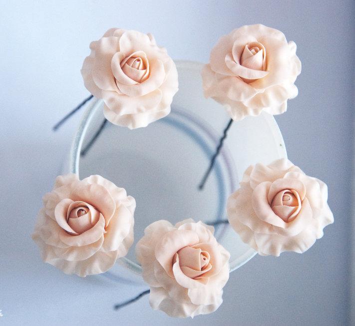 Цветочки на шпильки